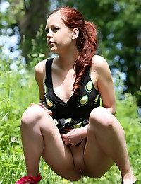 Cute young redhead..