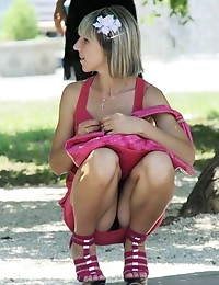 Hot upskirt girls