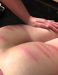 Girl on Girl Caning