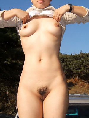 Tight Korean pussies. Sweet girls plays hairy korean pussy.