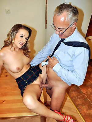 Older Man have fun with pretty nice girls. Real porn.