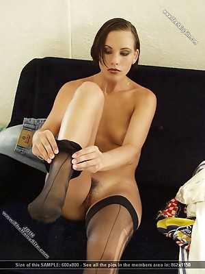 Girls in sexy and hot stockings plays their xxx bodies.