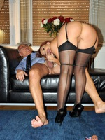 stockings amateur sex